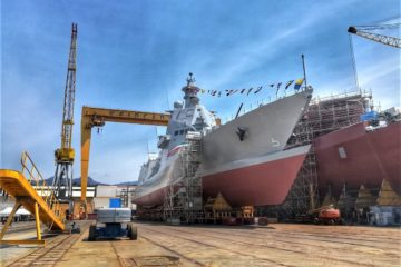 Fincantieri Launched the 2nd PPA 'Francesco Morosini' for the Italian Navy