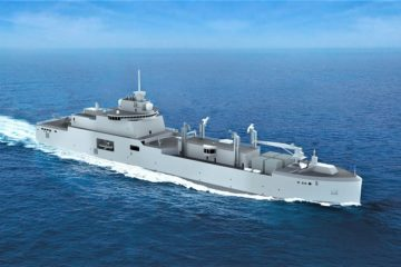 Construction Begins for French Navy's Next Gen Replenishment Tanker Chevallier-class 'BRF'