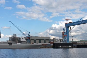 Cooperation agreement for German naval shipbuilding