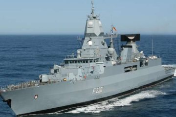 German Navy Postpones 'Hamburg' Frigate Deployment to Indian Ocean