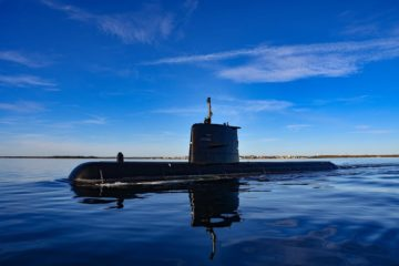 A19 Submarine HSwMS Gotland back in Swedish Navy Service Following Upgrade