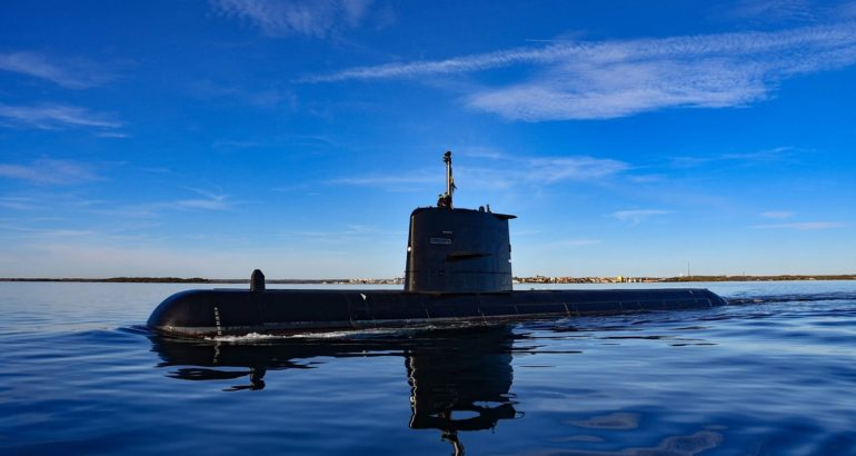 Gotland submarine. Swedish Armed Forces picture.