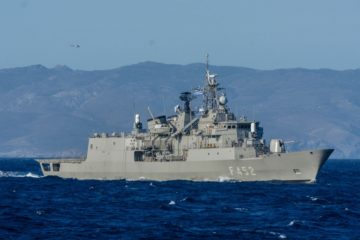 Hellenic Navy's frigate 'Hydra' set to join European operation IRINI
