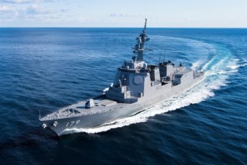 JMSDF to Put its Latest Aegis Destroyer JS Maya through its Paces