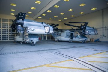 First Two Japanese V-22 Osprey Arrived on Home Soil