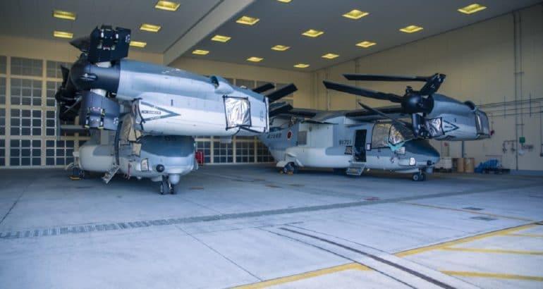 Japanese V-22 Arrives in Iwakuni.