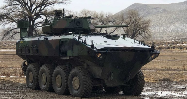 KONGSBERG's MCT-30 turret