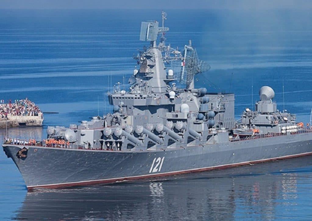 Moskva Cruiser. Russian MoD picture