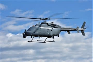 First deployed MQ-8Cs will be equipped with Leonardo AN/ZPY-8 radar