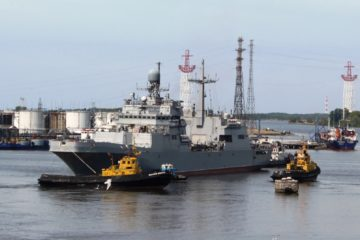 Russian Navy Landing Ship 'Petr Morgunov' in Final Stage of Sea Trials
