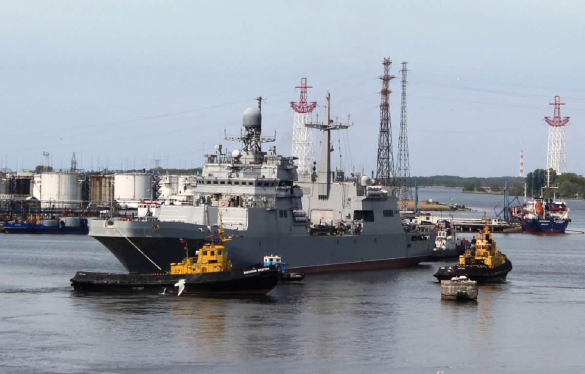 Russian Navy Landing Ship 'Petr Morgunov' in Final Stage of Sea Trials - Naval News
