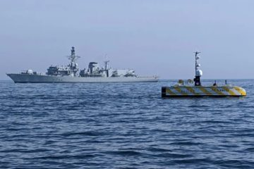 Sonardyne tests navigation systems for autonomous surface vehicles for UK MoD