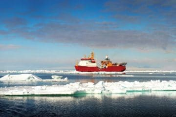 Royal Navy's Icebreaker HMS Protector begins major revamp