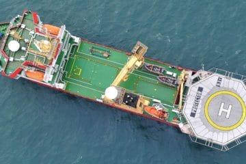 Vestdavit secures boat handling performance for HMS Protector