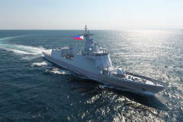Video: HHI Delivers BRP Jose Rizal Guided Missile Frigate to Philippine Navy