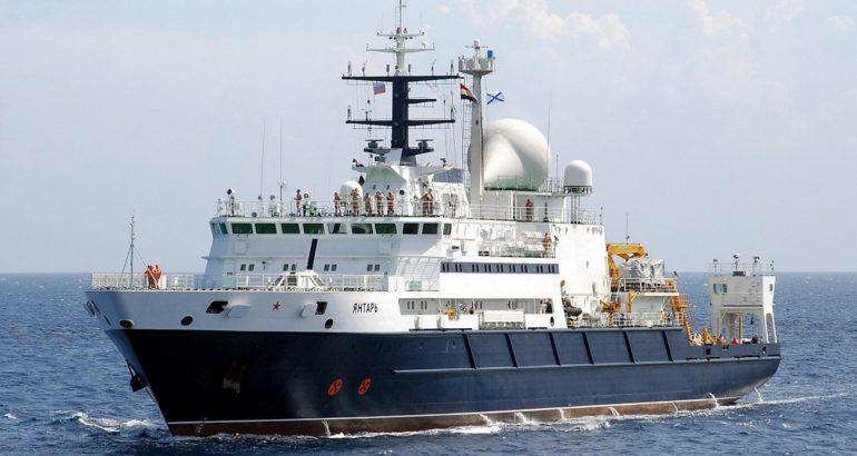 oceanographic research vessel Yantar
