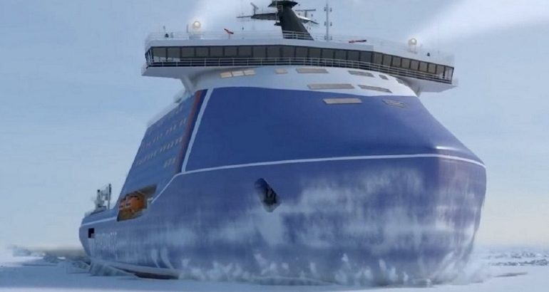 Nuclear icebreaker project 10510