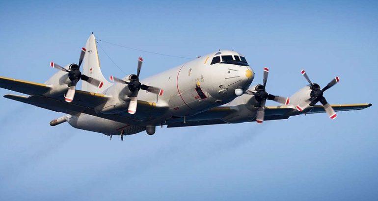 P3C Orion in flight.
