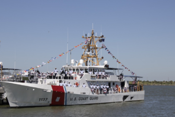 U.S. Coast Guard Commissions 37th Fast Response Cutter