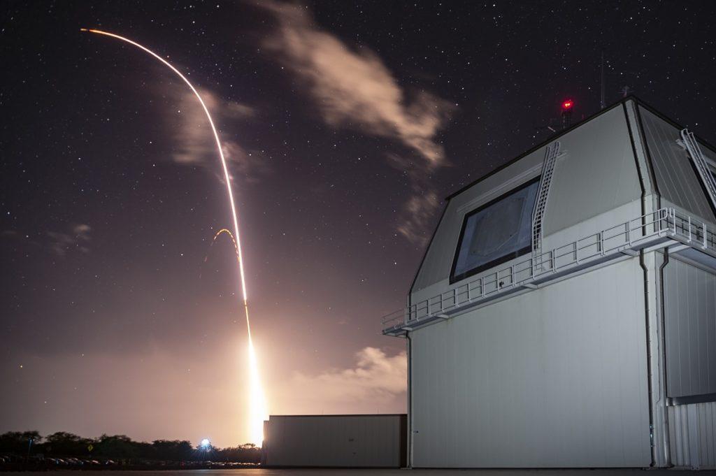 Aegis Ashore Missile Launch