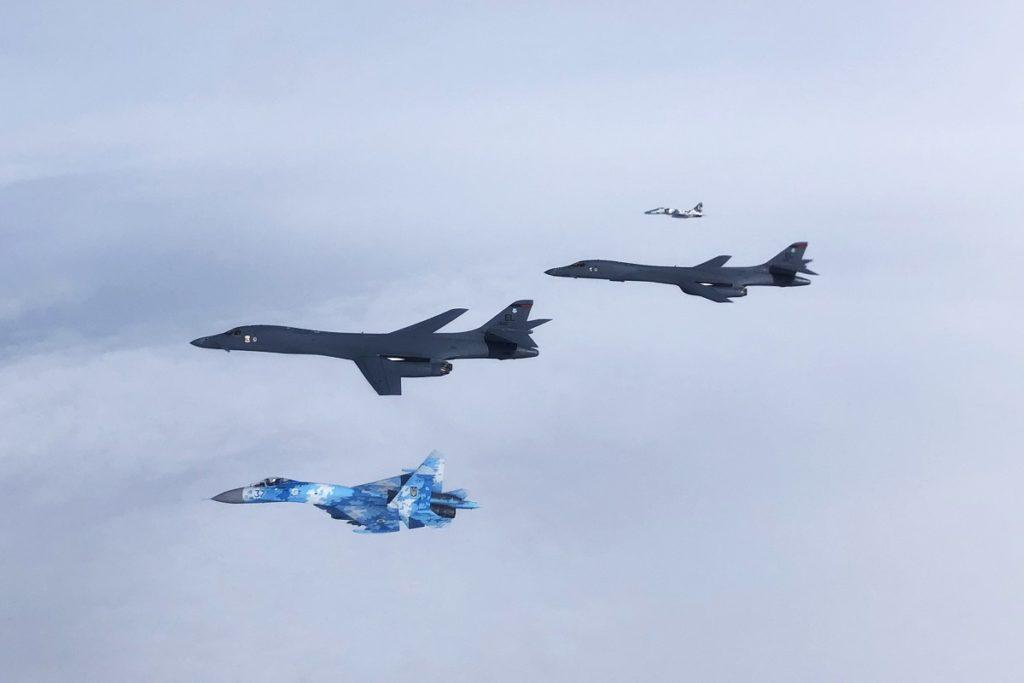 B-1B Train LRASM Capability During USAF Bomber Mission Across the Black Sea 1