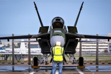Boeing Delivers First F/A-18 Block III Super Hornet Test Aircraft to U.S. Navy
