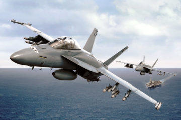 Boeing Inducts 20th U.S. Navy F/A-18 into Service Life Modification