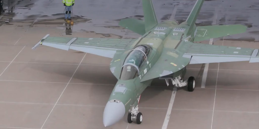 Boeing's FA-18 Block III Super Hornet Takes First Flight 2