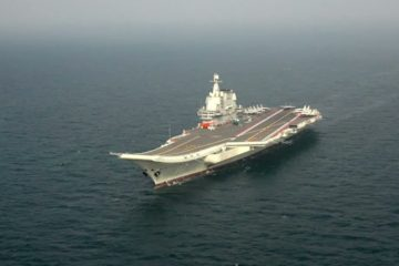 Video: China's Aircraft Carrier 'Shandong' Conducting Sea Trials in Yellow Sea