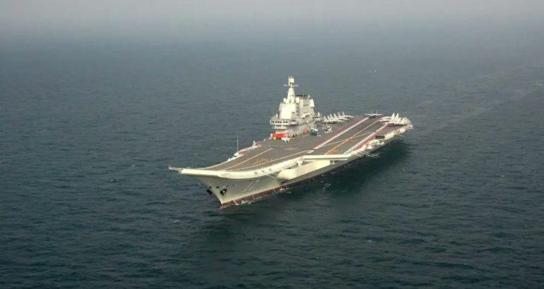 China's Aircraft Carrier 'Shandong'