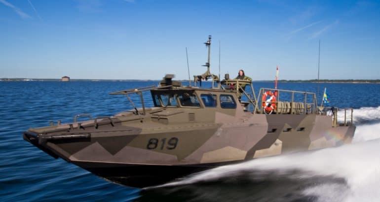 Combat boats CB90 - Swedish Navy