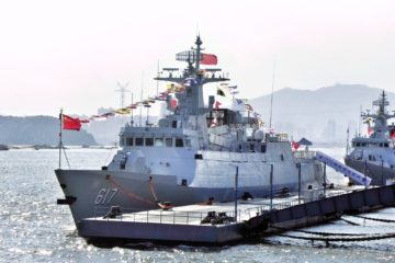 China Commissioned its Ninth Type 056 Corvette So Far in 2020