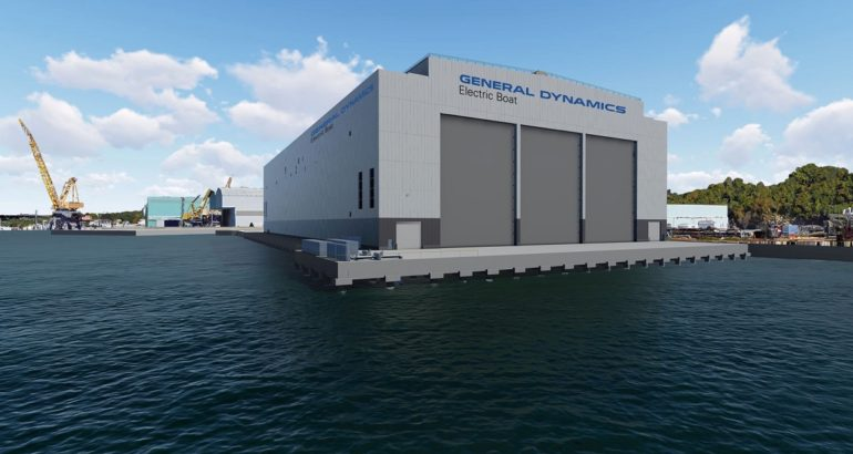 Electric Boat Begins Next Phase of Expansion to Support Columbia-class Construction