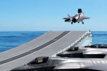 "Video: UK's F-35B 617 Squadron ""Dambusters"" Aboard HMS Queen Elizabeth"