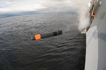 First Surface Ship and Submarine Firings for Saab Lightweight Torpedo
