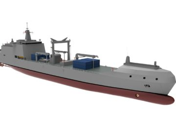 GE to Provide LM2500 Gas Turbines for Turkey's New Fleet Replenishment Ship