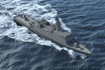 Greek and Israeli Shipyards Teaming Up to Propose Themistocles Corvette to Hellenic Navy