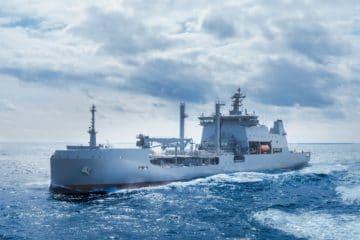 HHI Delivers Royal New Zealand Navy's Largest Ever Vessel – HMNZS Aotearoa
