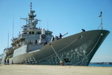 Operation Irini welcomes the Hellenic Navy Hydra-class Frigate Spetsai