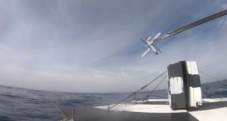 UVision Demonstrates Hero-30 Loitering Munitions System in Naval Domain during NATO Test