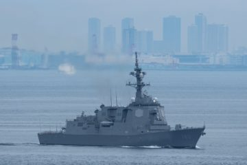 Final JMSDF Aegis Destroyer 'Haguro' はぐろ Starts Sea Trials