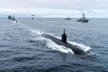 NATO ASW Exercise Dynamic Mongoose 2020 Begins Off Iceland