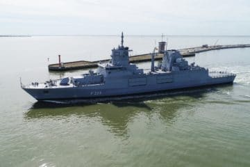 German Navy commissions its second F125 Baden-Württemberg-class Frigate
