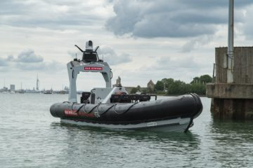Royal Navy Launched its First 'crewless Pacific 24 boat' USV