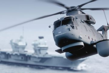Royal Navy's Merlin Crowsnest AEW Helicopter Faces Delays