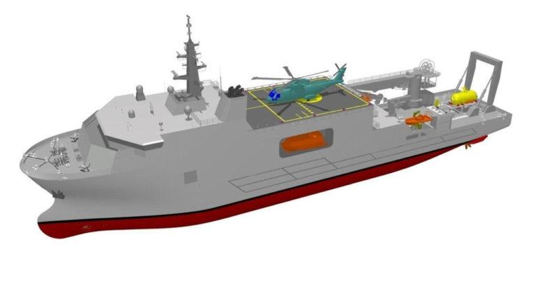 SDO-SuRS Italian Navy Submarine Rescue Ship