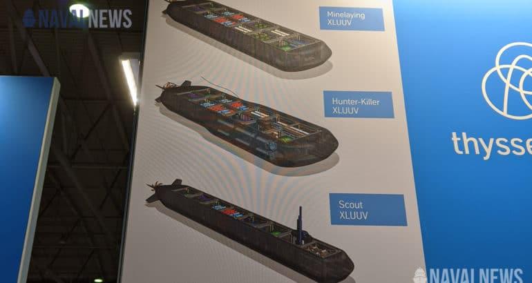 TKMS Presents New Modular XLUUV