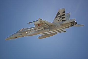 U.S. Navy completes first AARGM-ER captive carry flight on F/A-18