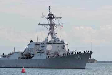 U.S. Navy conducts FONOP off Venezuela
