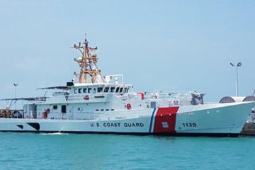U.S. Coast Guard accepts 39th fast response cutter